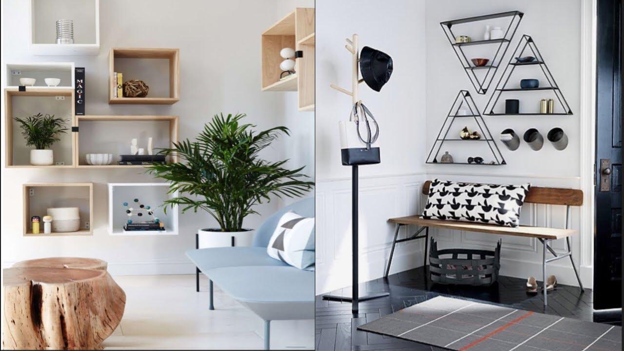 Download 100+Creative wall shelves ideas-DIY home decor-Easy DIY floating shelves no bracket | DIY Creators
