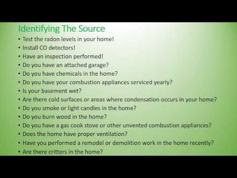 Indoor Air Quality Source & Solutioins - Home Performance