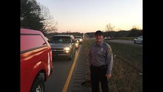 Truck Fire Shuts Down Highway 31 Northbound Jonhsons Crossing