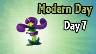 Plants vs Zombies 2 - Modern Day - Day 7: Nightshade new Costume