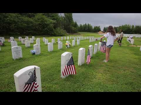 Flags collected after Memorial Day holiday