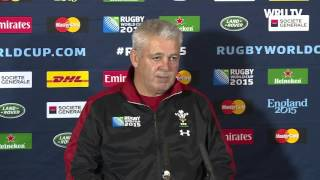 Gatland delighted to be through to RWC quarter-finals | WRU TV