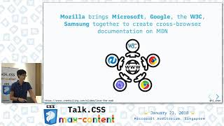 Love the web for what it is- Talk.CSS #24 max-content Edition - SingaporeCSS
