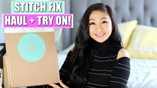 Stitch Fix Unboxing + Try On Haul | February 2018