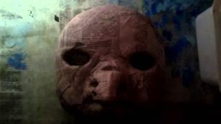 как сделать маску папье маше(часть 1).