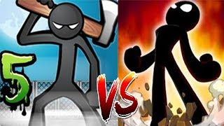Anger Of Stick 5 VS Anger Of Stick 2 | Hack Mode - Android GamePlay HD
