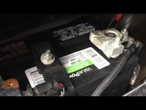 Ford Fusion Energi battery replacement