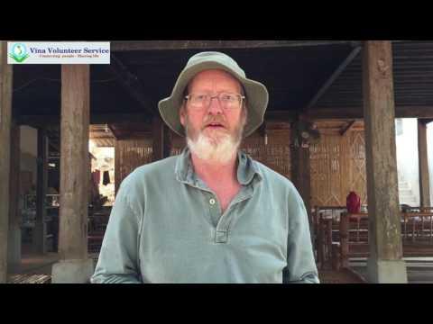Volunteer in Mai Chau, Vietnam organic farming review| Keith| Vina Volunteer Service