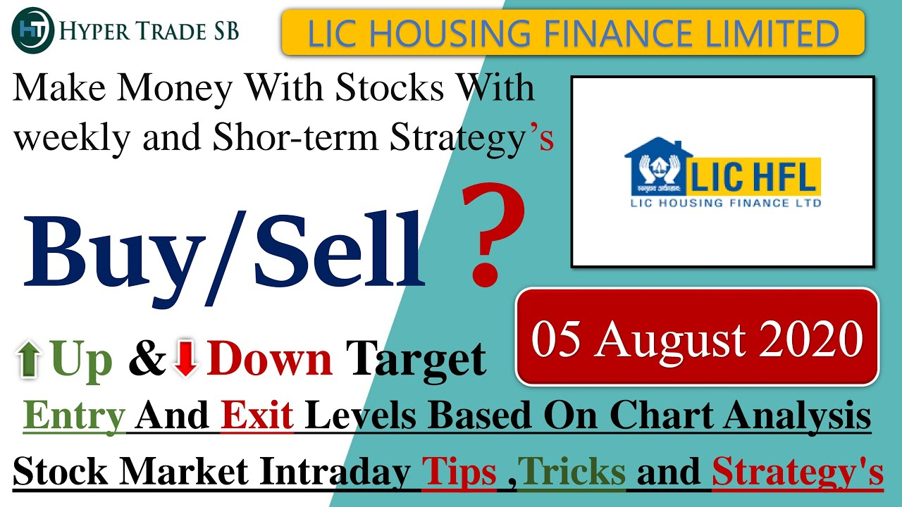Lic Housing Finance Share Target 05 August Lic Intraday Targets Lic Intraday Tips Lic Latest News Youtube