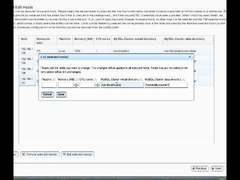 MySQL Cluster Auto-Installer Tutorial