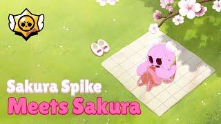 Brawl Stars: Sakura Spike Meets Sakura!