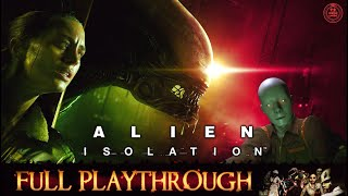 Alien Isolation |PC►Visually Enhanced/60FPS| Full Longplay Gameplay Walkthrough No Commentary 1080P