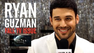 Heroes Reborn Star Ryan Guzman Interview TheWrap Magazine Fall TV Issue Cover Shoot