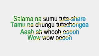 Tanzania All Stars Ishi Na Mimi Lyrics Video