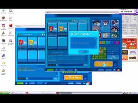Hướng dẫn dùng phần mềm Maple Coup 2.1 và auto toy để Auto TLT boom online.avi