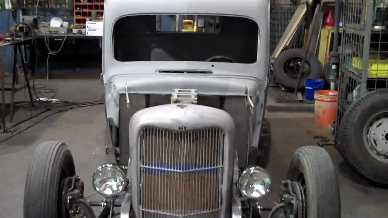 Updated 1940 Hot Rod/ Rat Rod Bobber Truck Project - YouTube