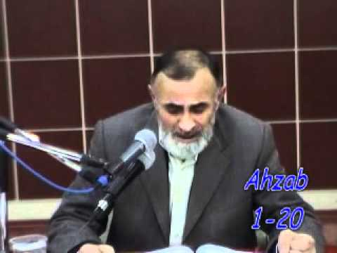 Ahzab Suresi 1-20