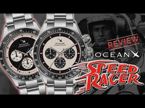 Review Jam Tangan OCEANX SPEED RACER CHRONOGRAPH 👍 Daytona Paul Newman Best Alternative ⁉️