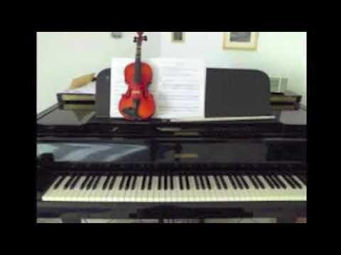 E. F. dall' Abaco: Pastorale Playback, Piano: G. Dingler
