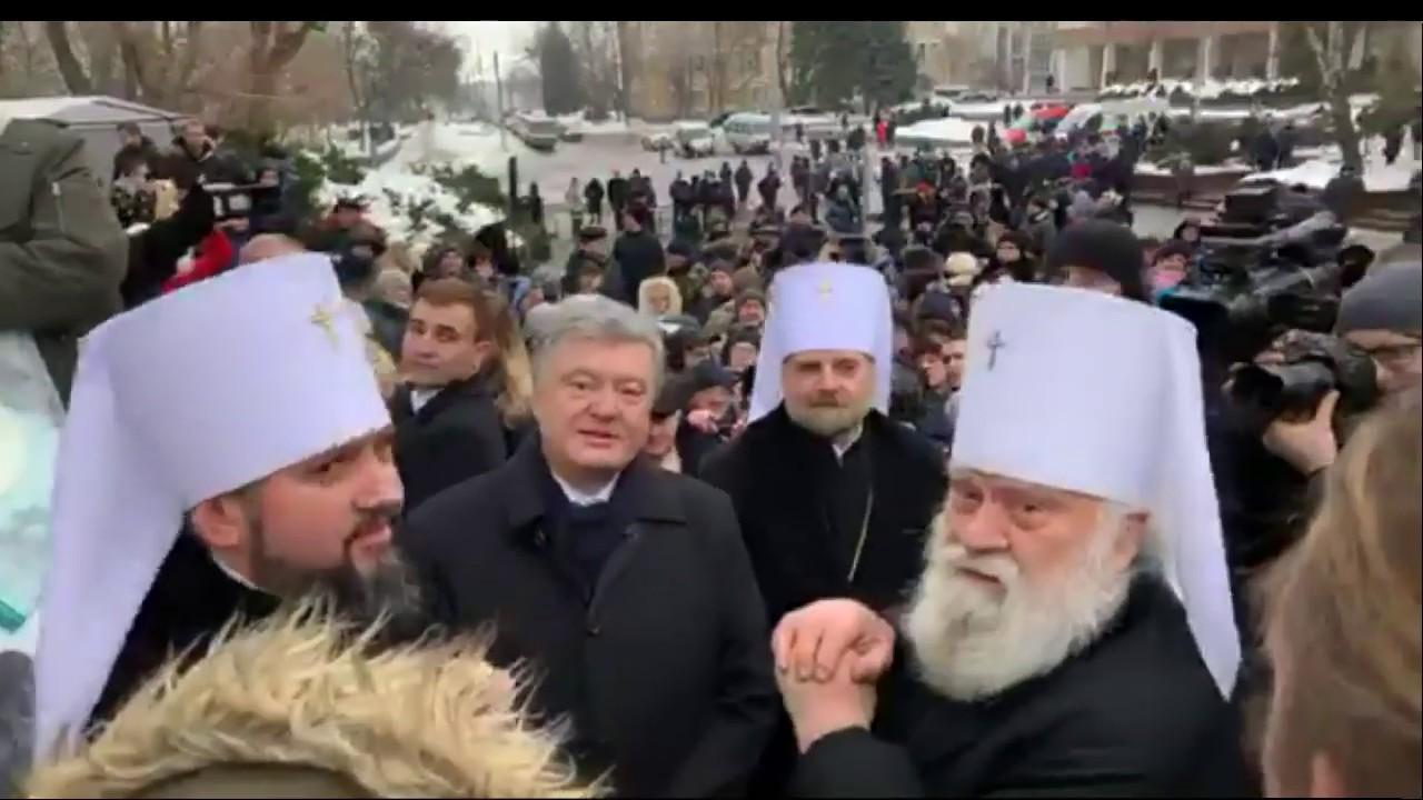 «Москальский провокатор!»: Порошенко в Черкассах пообщался с народом
