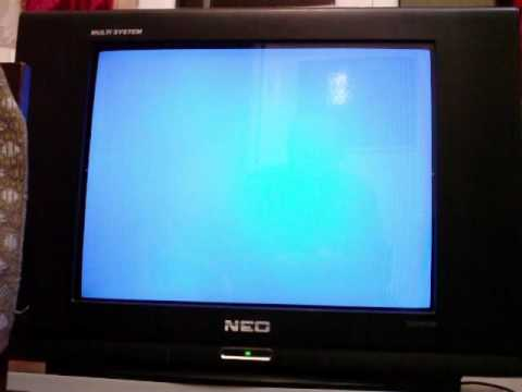 Service menu on television receiver NEO TV-2151TXF / CTV5 CHASSIS