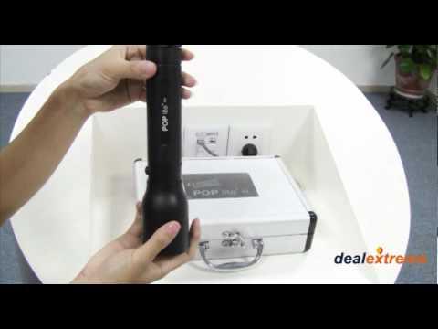 5-Mode 400LM White LED Flashlight - DealExtreme