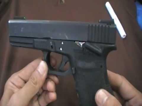 Glock 21 Thumb rest แบบบ้านๆ