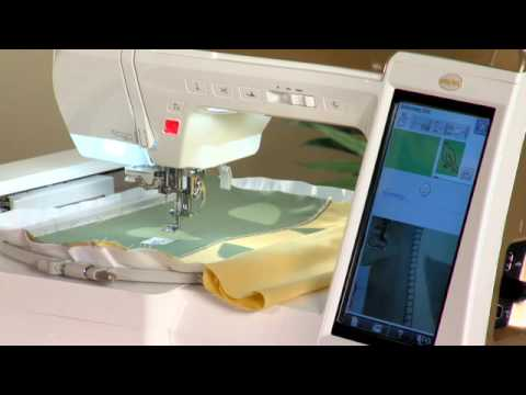 Baby Lock Ellisimo Embroidery And Sewing Machine Applique Placemat Amazing Ellisimo Sewing Machine