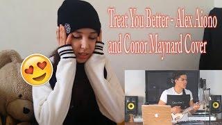 Baixar Alex Aiono and Conor Maynard  - Treat You Better COVER _ REACTION