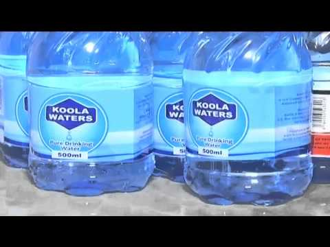 Kenya's bottled water business valued at $148mln