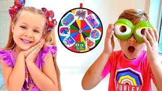 Diana and Roma - Kids Story about Magic wheel