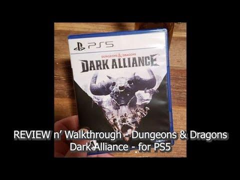Review n' Walk-through - Dungeons & Dragons - Dark Alliance - PS5