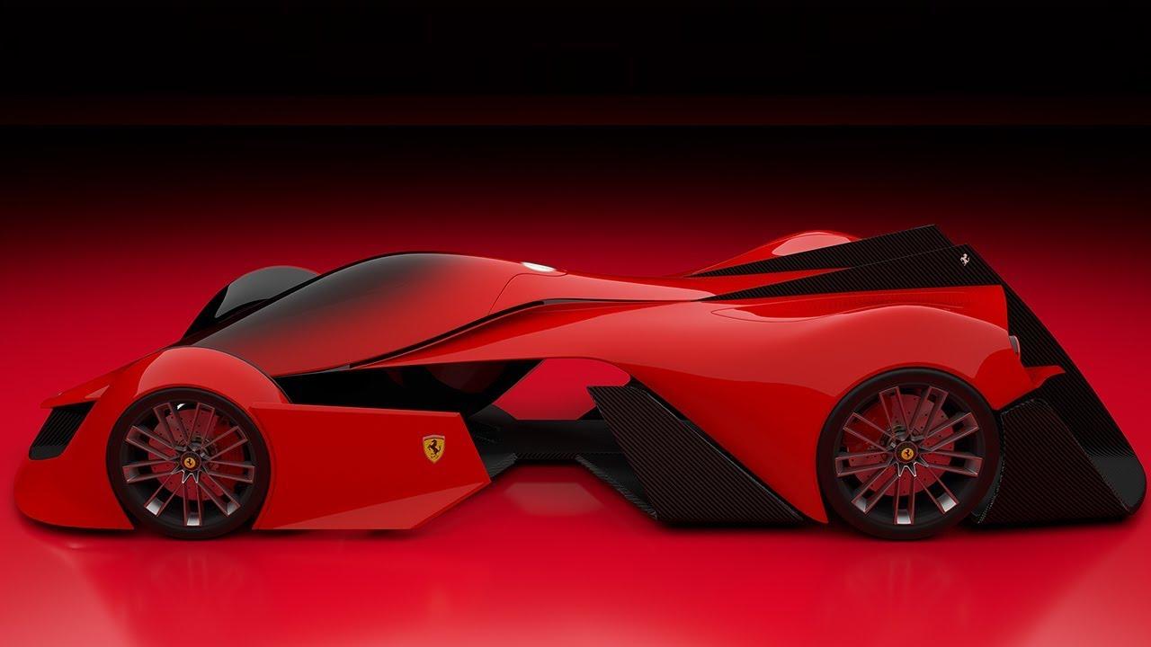 Ferrari F 2037 Future Vision Concept Youtube