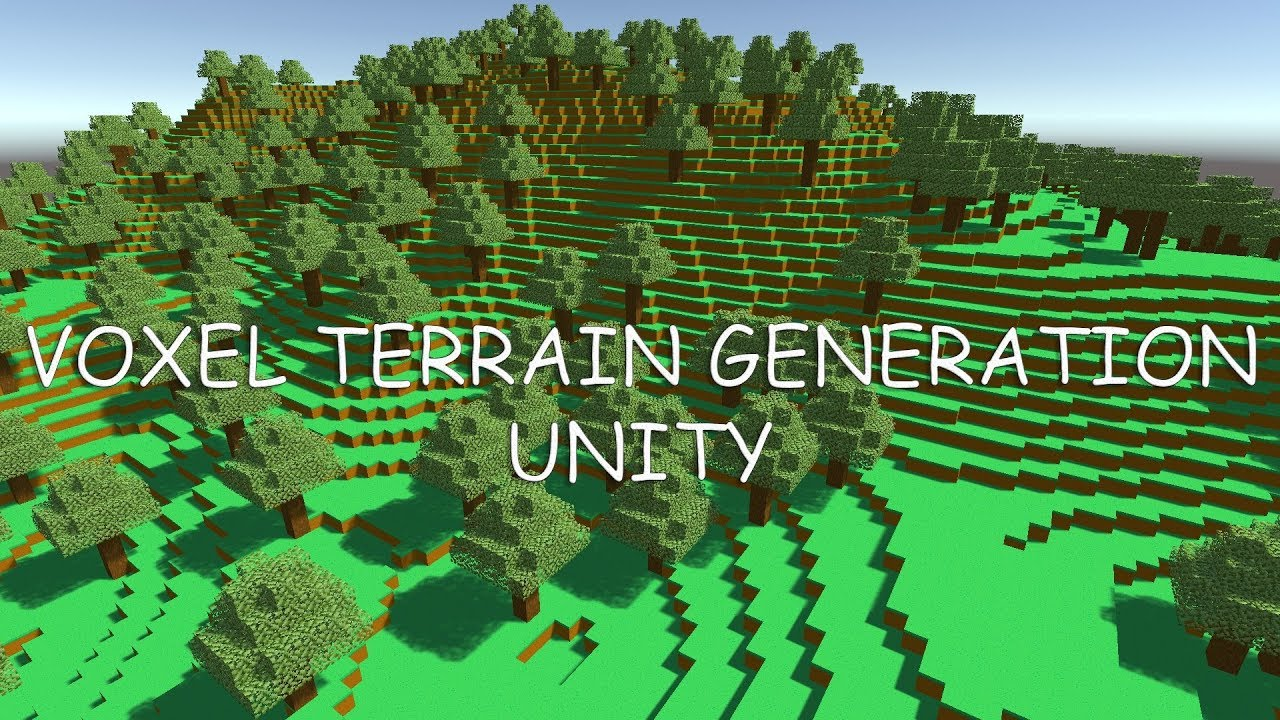 Voxel Engine (Update 1): Minecraft like game in Unity