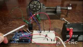 Control a DC Motor with Arduino and a Relay!  How-To Tutorial from NYC CNC