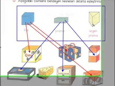 Necmi Demir 2 Sınıf Geometrik Cisimlerküpprizmalarsilindir