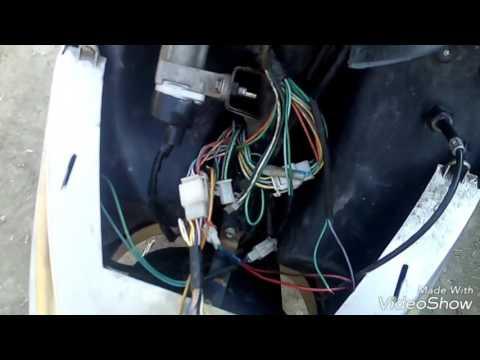 Снятие сигнализации с китайского скутера