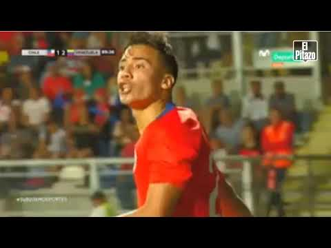 Repudiable: futbolista chileno llamó muerto de hambre a jugador venezolano