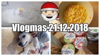 Vlogmas 21 | Unser Weihnachtsmenü | Food Haul Weihnachten