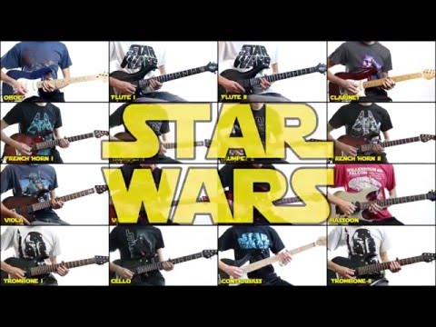 Star Wars Theme (Guitar Orchestra) - Cooper Carter