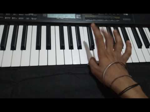 Kali Kali amavas ki raat me (bhajan) on piano