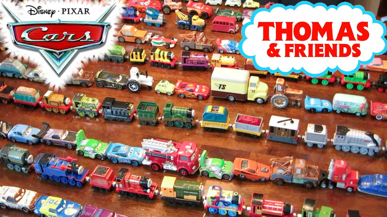 160 Thomas Amp Friends Lightning Mcqueen Cars Trains Tank