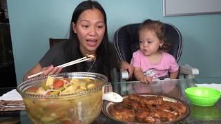 Vlog 735 ll Canh Chua Cá Bông Lau Kho Tộ Ở Mỹ, Ăn Hết Nồi Cơm
