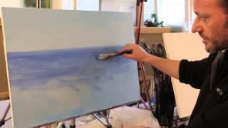 НОВИНКА! Бесплатно видеоурок Волна в морском пейзаже Ч 1