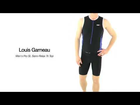 Louis Garneau Men's Pro SL Semi-Relax Tri Top | SwimOutlet.com