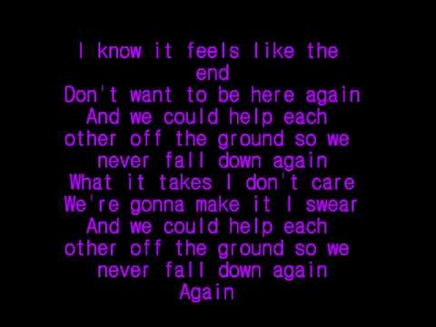 Faber Drive Tongue Tied Lyrics On Screen Youtube