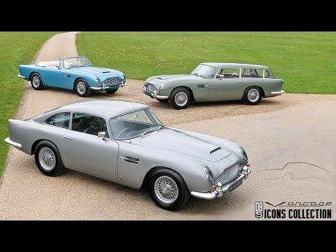 DB5 Vantage Icons Collection - Nicholas Mee & Company, Aston Martin Specialists