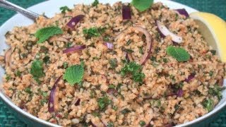 Kısır Recipe - The Turkish Version Of Tabbouleh!