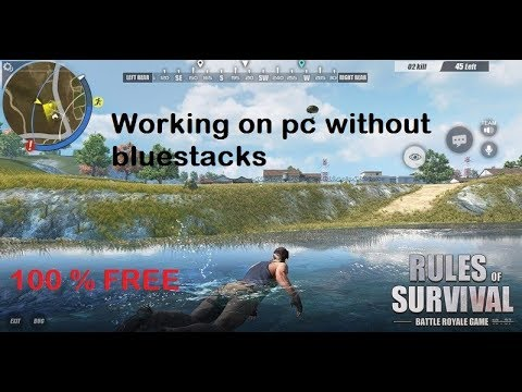 play rules of survival bluestacks