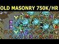 Tibia · Hunt Guide 2019 · MS/ED 70+ · 750K/H · Old Masonry (Solo Hunting)